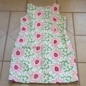 TALBOTS Embroidered Floral Dress.   Sz 12P